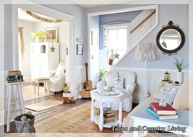 Dealing with a Quirky Living Room Town & Country Living
