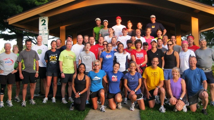 Marathon Training Group. Fox River Trail Runners