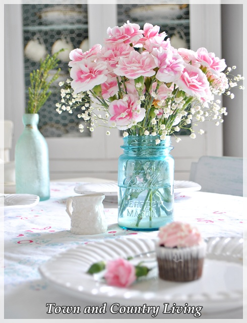Pink Carnations and Cupcakes