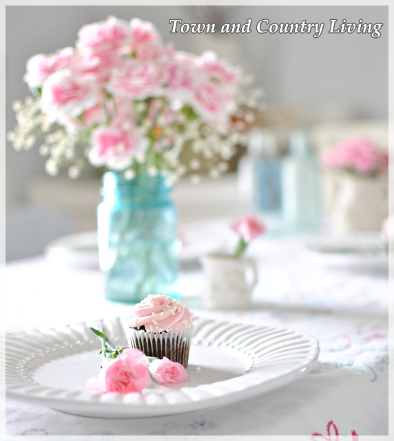 Cupcakes and Carnations