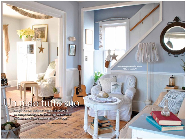 Town and Country Living Blog in Magazine