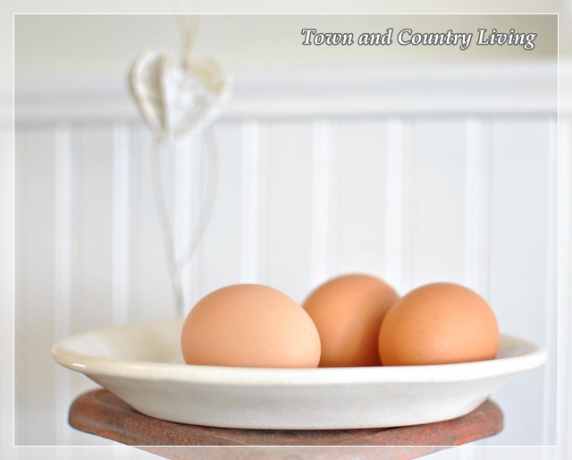 Brown farm eggs