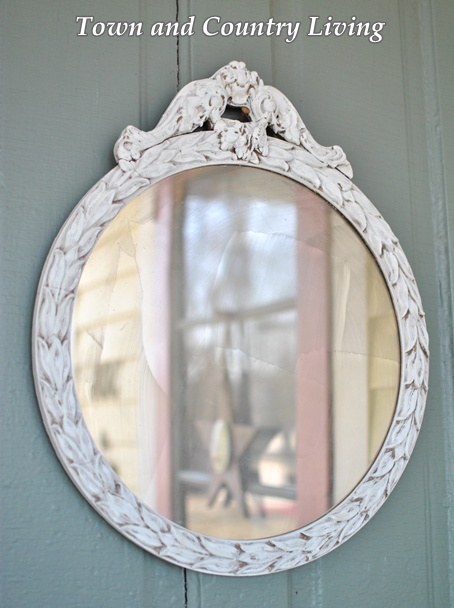 Old Victorian Mirror