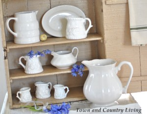 Tips for Building a White Ironstone Collection