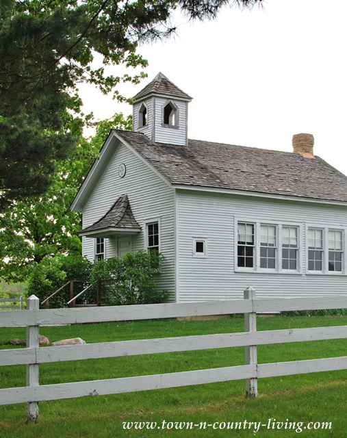Pioneer Sholes School in Kane Country, Illinois
