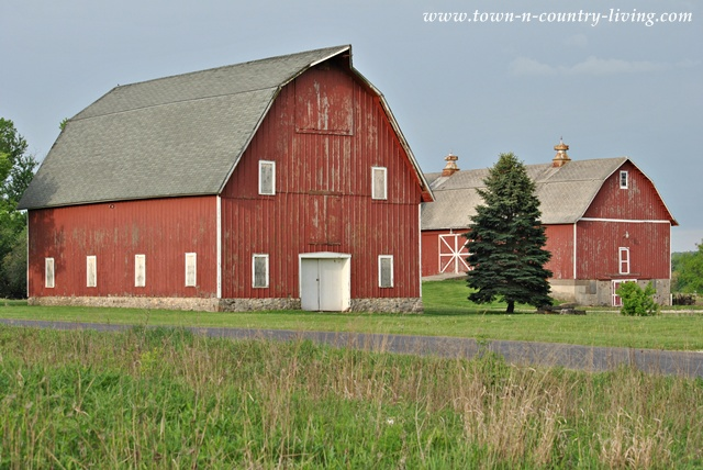 Rustic Red Barns