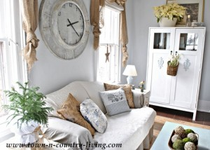 Country Style Decorating in the Family Room
