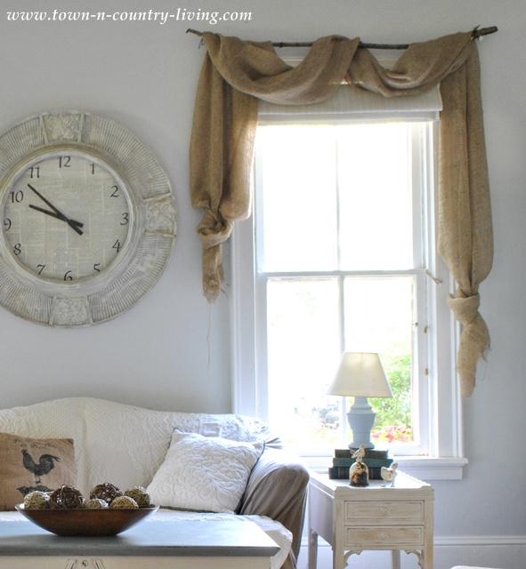 Curtains Ideas country home curtains : Take a Tour of My Cottage Style Farmhouse - Town & Country Living