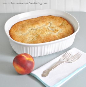 Super Simple Peach Cobbler