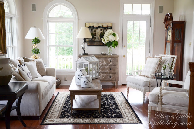 Stonegable Blog Living Room