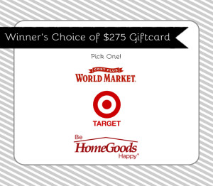 Win a $275 Gift Card with this Week's Giveaway!