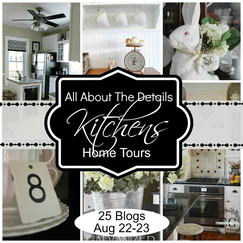 Kitchen Details Tour via Town and Country Living