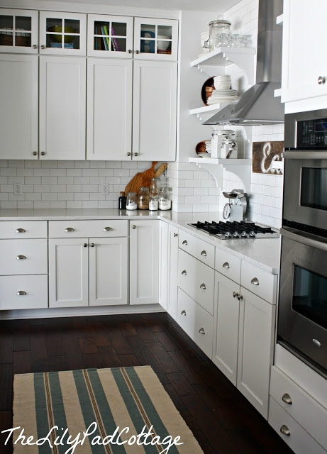 Lily Pad Cottage kitchen - www.lilypadcottage.com