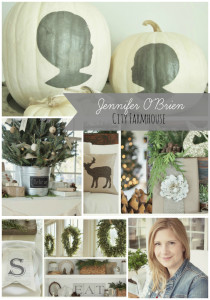 City Farmhouse Home for the Holidays Collage