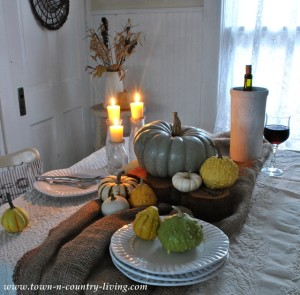 Fall Decorating with Candles