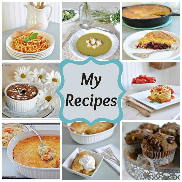 Recipe Collage at Town and Country Living via www.town-n-country-living.com