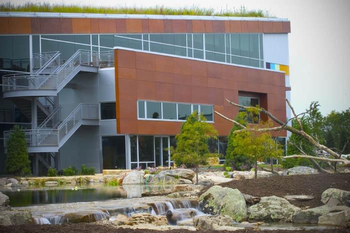 Aqualand', headquarters of Aquascape Inc via Town and Country Living