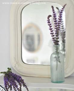 Vintage Mirror Vignette