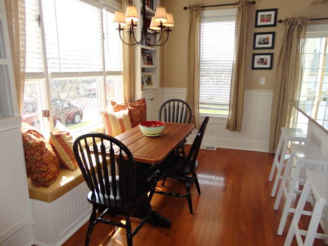 Dining nook in charming older home