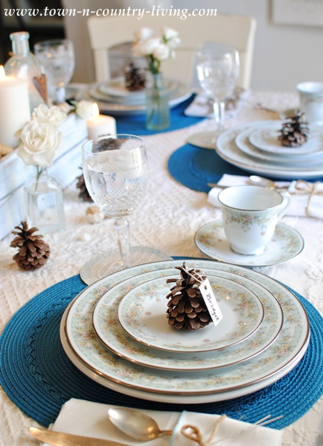 Thanksgiving Tablescape by Town and Country Living