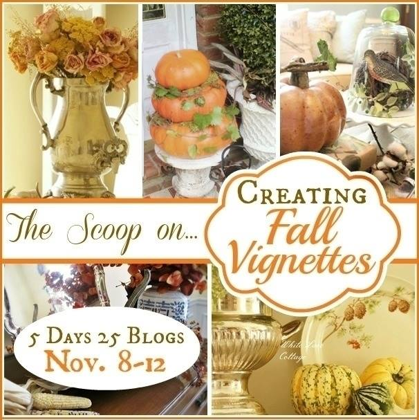 Fall Vignettes How To via Town and Country Living