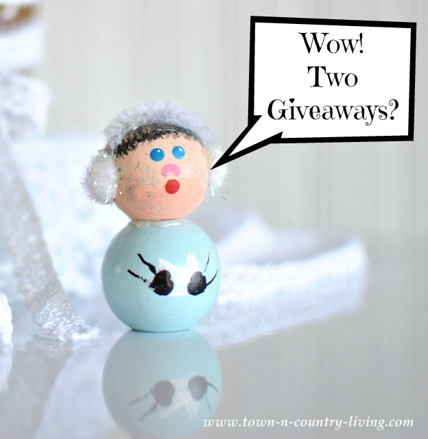 Two Holiday Giveaways via Town and Country Living
