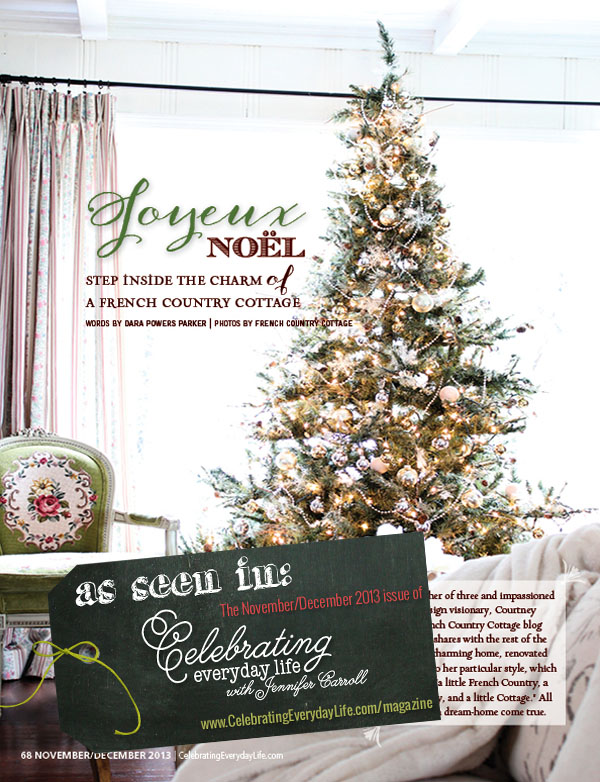 Christmas Magazine Celebrating Everyday Life Town Country Living