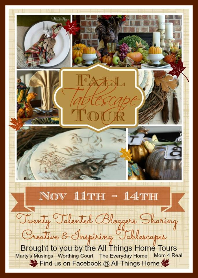 Fall Tablescape Tour via Town and Country Living