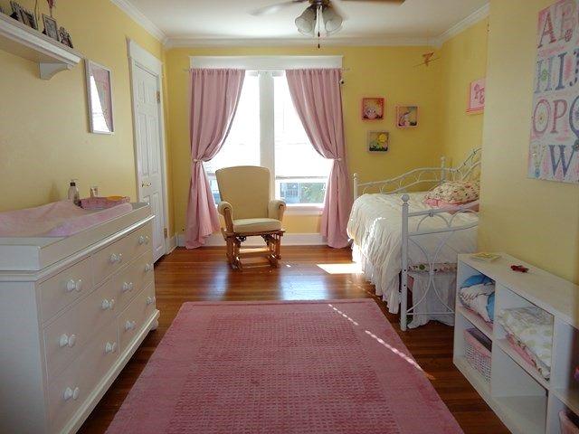 Girl's sunny bedroom