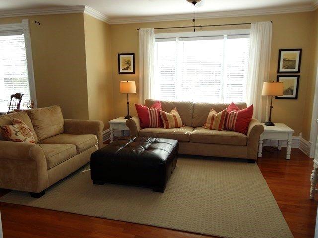 Living  room in charming older home