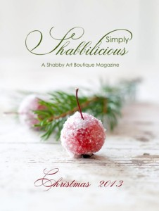 Free Christmas Magazine – Simply Shabbilicious!