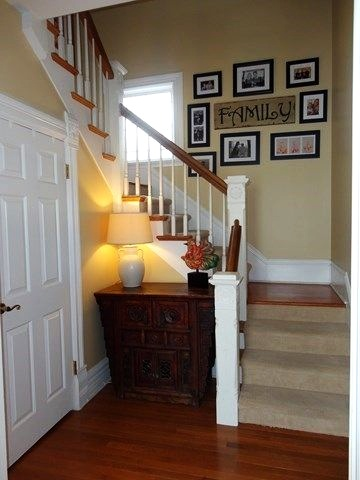 Beautiful staircase in charming older home