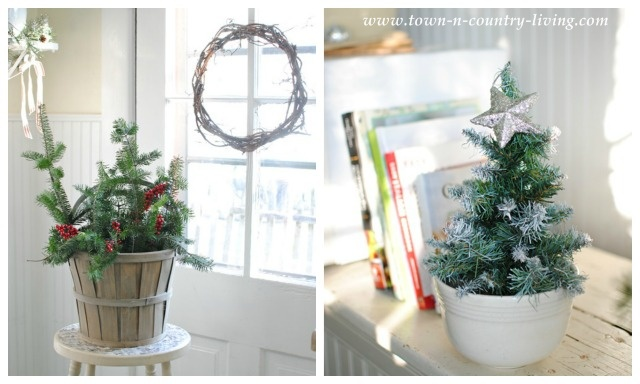 Christmas Collage via Town and Country Living