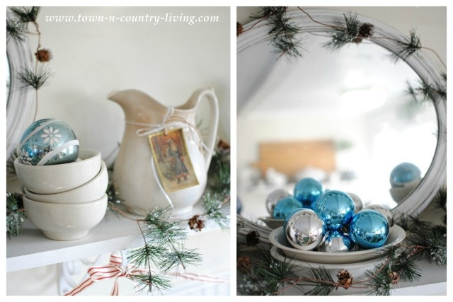 Farmhouse Christmas Details via Town and Country Living