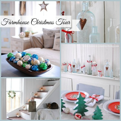 Christmas Farmhouse Tour at Town and Country Living