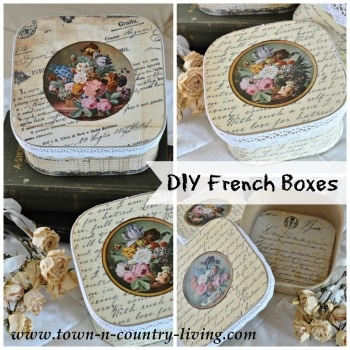 French Inspired Boxes