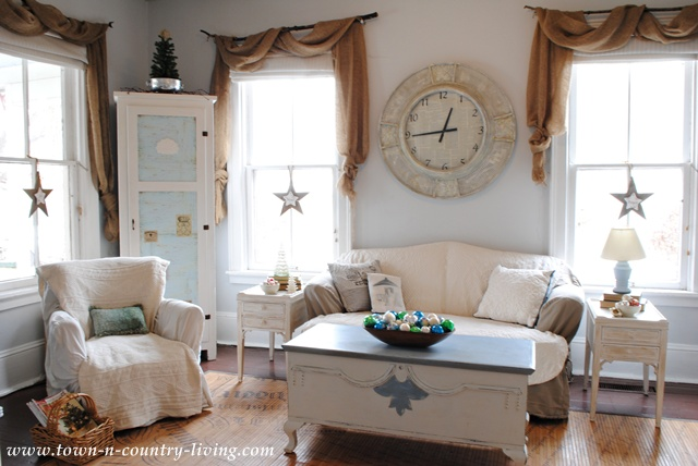 Farmhouse Christmas at Town and Country Living