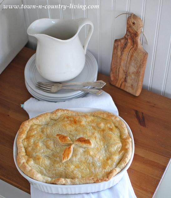 Vegetable Pot Pie at Town and Country Living