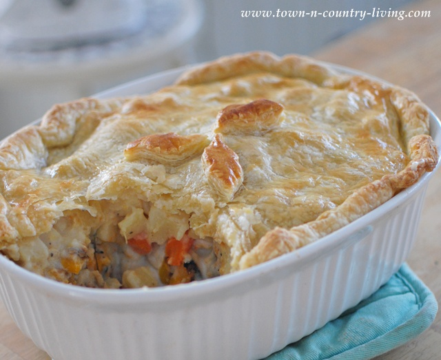 Vegetable Pot Pie ~ A Labor of Love - Town & Country Living