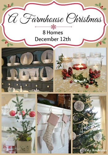 Farmhouse Christmas Tour via Town and Country Living