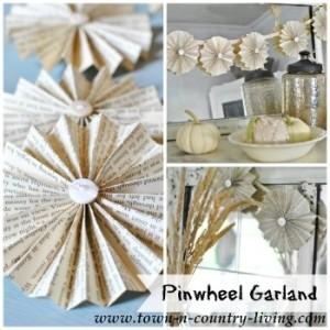DIY Paper Fan Garland