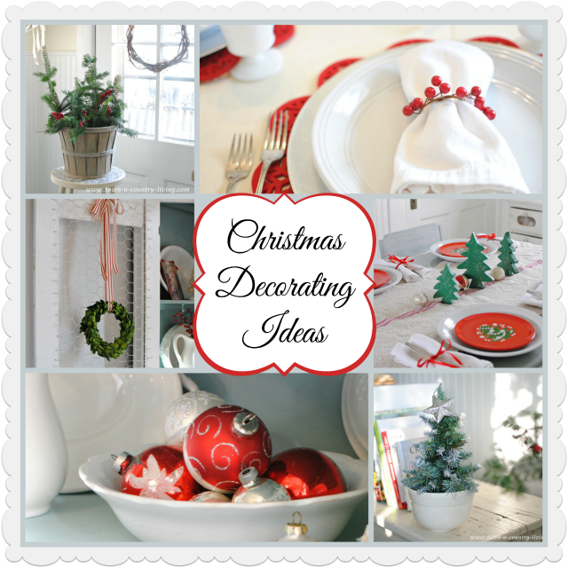 christmas decorating ideas from town and country living - Simple Country Christmas Decorating Ideas