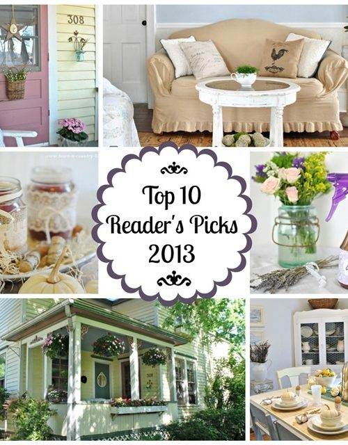 Top Ten Readers' Picks at Town and Country Living