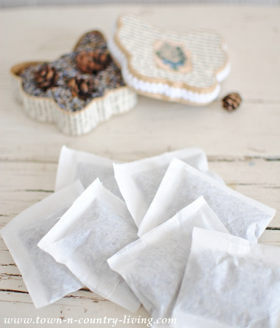 How to make lavender potpourri and sachets