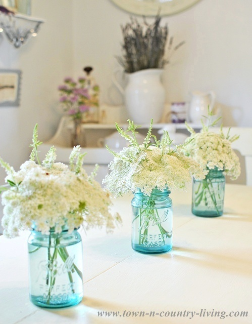 Wildflowers-in-Blue-Mason-Jars