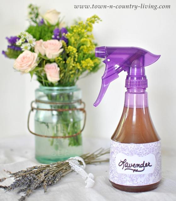 DIY Lavender Linen Spray