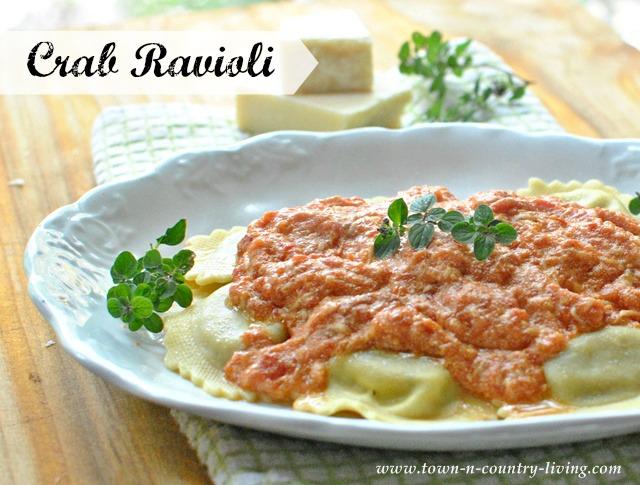 Crab Ravioli Recipe