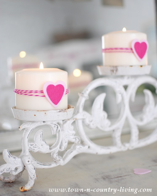 Romantic Decorating Details via Town and Country Living