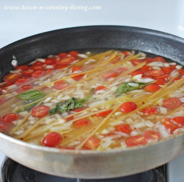 One Pan Pasta Recipe from Martha Stewart
