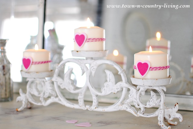 Romantic Decorating Details for Valentine's Day